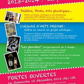 """Portes-Ouvertes en Famille """"les pensées 2013 -2014"""""""