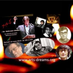 En mémoire du poète Mahmoud Darwich le 14 mars 2015