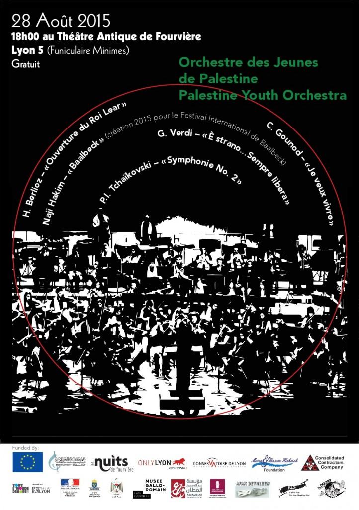 l'Orchestre des Jeunes de Palestine