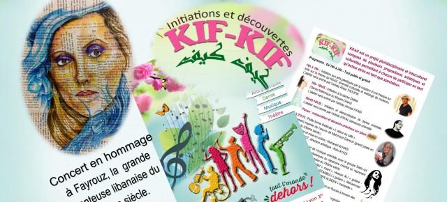 KIF -KIF , le 1er  septembre sur la place colbert Lyon 1er