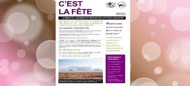 JOURNÉE DE LANCEMENT ET REPRISE DES ACTIVITES ASSOCIATIF
