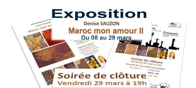 «Maroc mon amour II » – Exposition exceptionnelle à la Maison de l'Éducation